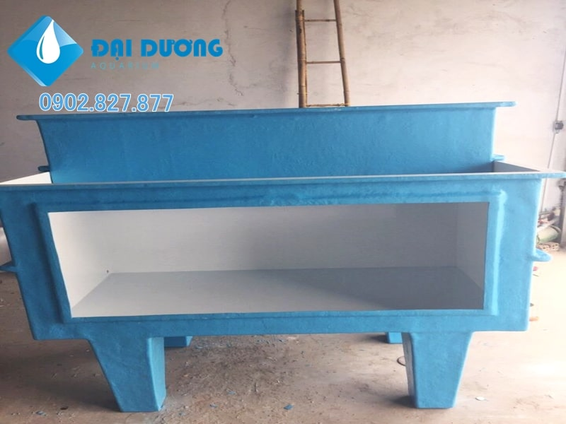 hồ hải sản bằng composite